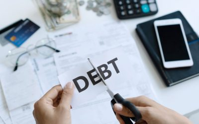 If you're in debt and you think it's somebody else's fault, you're probably wrong.
